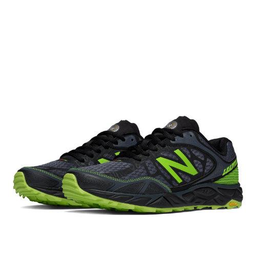 New Balance Leadville v3 Men's Running Recommender Styles Shoes - Black, Toxic (MTLEADB3)