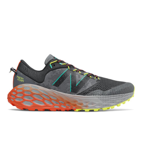 New Balance Fresh Foam More Trail v1 Men's Trail Running Shoes - Black / Grey (MTMORRY)