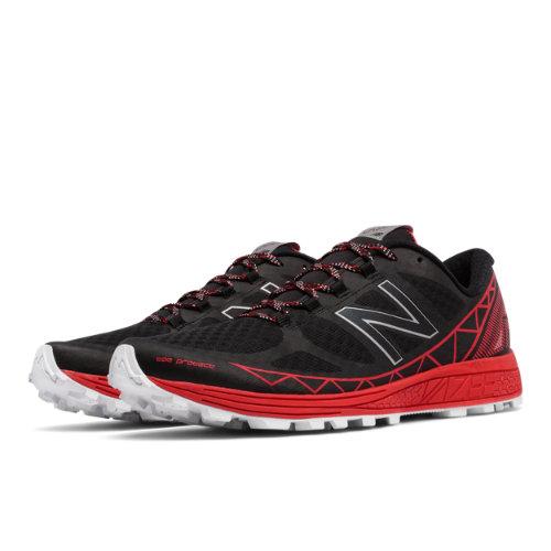 New Balance Vazee Summit Trail Men's Speed Shoes - Black / Red (MTSUMBR)