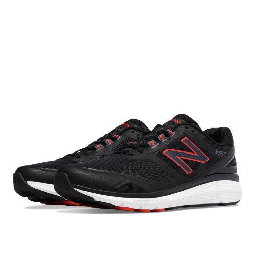 New Balance 1865 Men's Shoes - Black / Red (MW1865BK)