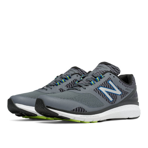 New Balance 1865 Men's Shoes - Grey / Black (MW1865GY)