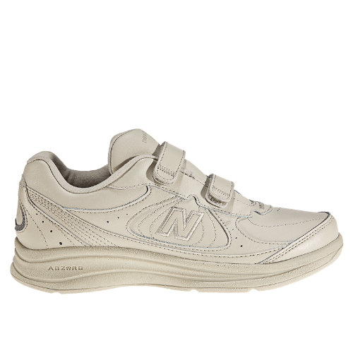 New Balance Hook and Loop 577 Men's Health Walking Shoes - Bone (MW577VB)