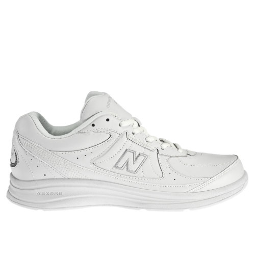 New Balance 577 Men's Health Walking Shoes - White (MW577WT)