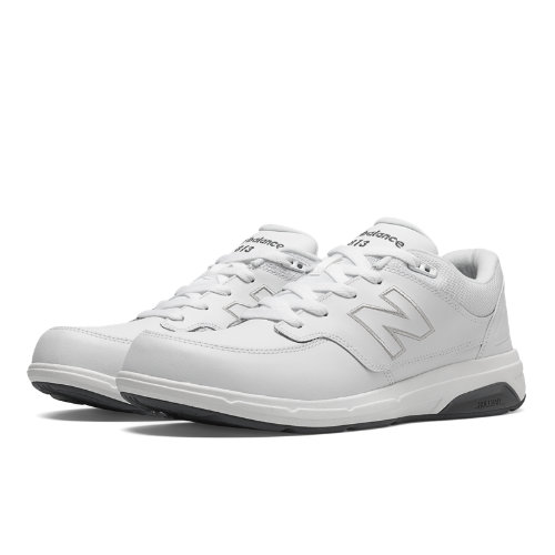 New Balance 813 Men's Health Walking Shoes - White (MW813WT)