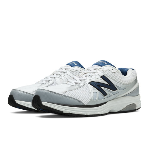 New Balance 847v2 Men's Health Walking Shoes - White (MW847WT2)