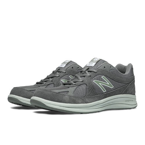 New Balance 877 Men's Health Walking Shoes - Grey, Light Grey (MW877GT)