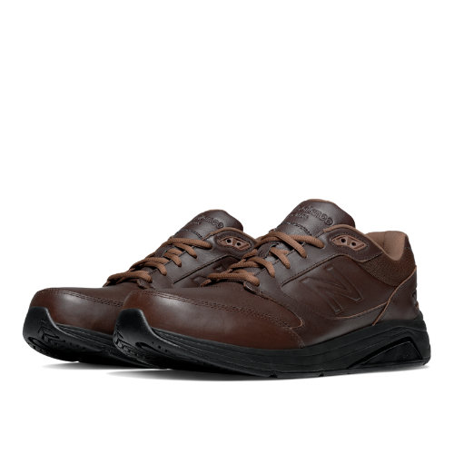 New Balance Leather 928v2 Men's Health Walking Shoes - Brown (MW928BR2)