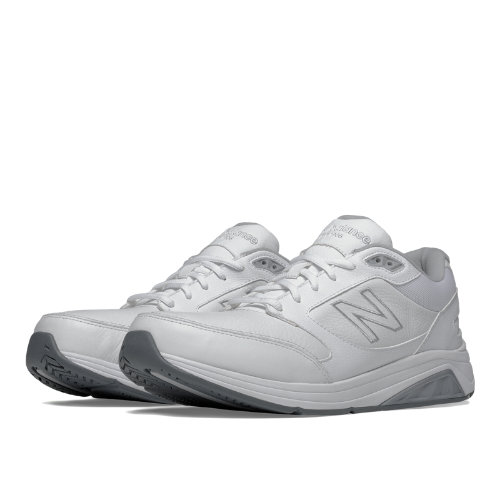 New Balance Leather 928v2 Men's Health Walking Shoes - White (MW928WT2)