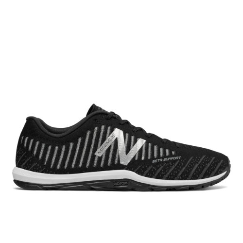 New Balance Minimus 20v7 Trainer Men's Cross-Training Shoes - Black / White (MX20BK7)