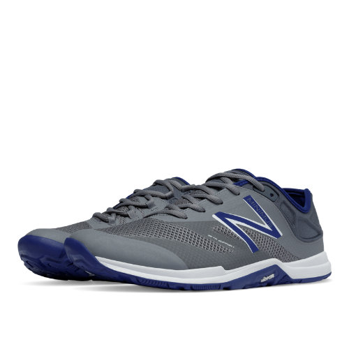 New Balance Minimus 20v5 Trainer Men's Shoes - Grey / Blue (MX20MB5)