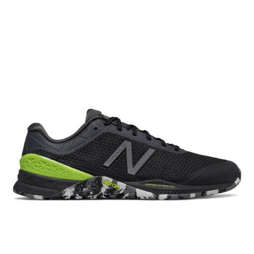 New Balance Minimus 40 Trainer Men's Cross-Training Shoes - Black / Green / White (MX40OD1)