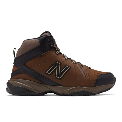 New Balance 608v4 Men's Everyday Trainers Shoes - Brown / Black (MX608MN4)