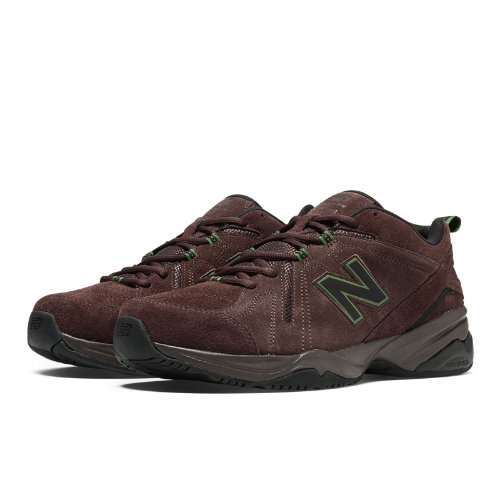 New Balance 608v4 Men's Everyday Trainers Shoes - Brown (MX608V4O)