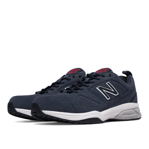New Balance 623v3 Suede Trainer Men's Shoes - Charcoal (MX623CH3)