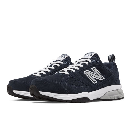 New Balance 623v3 Men's Everyday Trainers Shoes - Navy, Off White (MX623NS3)