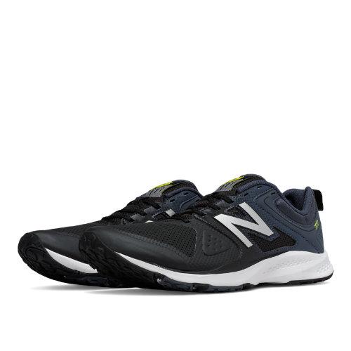 New Balance 777v2 Trainer Men's Shoes - Black / Grey (MX777BF)