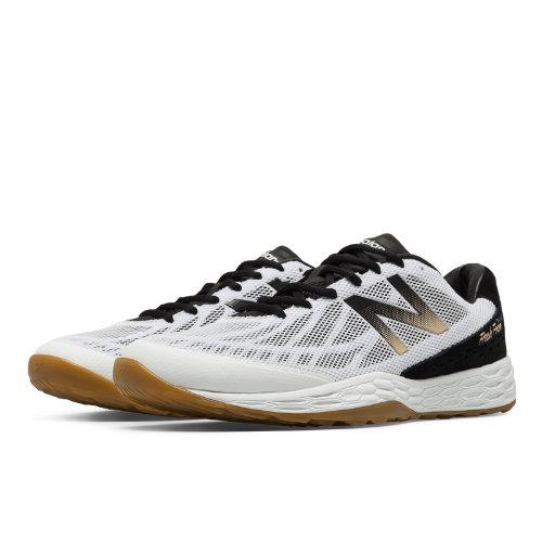 New Balance Fresh Foam 80v3 Trainer Men's Shoes - Black / White / Gold (MX80AG3)