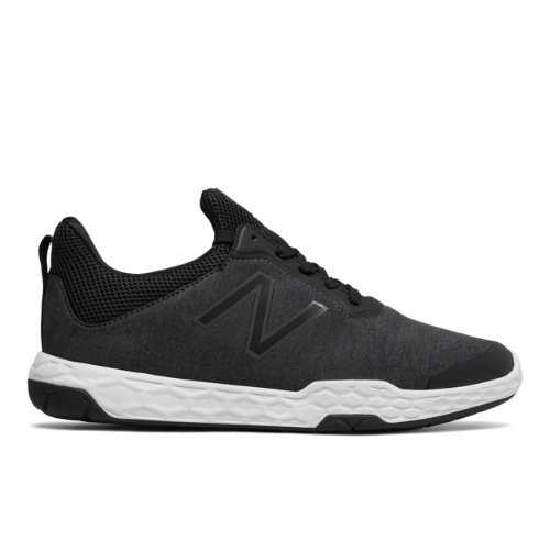 New Balance Fresh Foam 818v3 Trainer Men's Cross-Training Shoes - Black / White (MX818BK3)