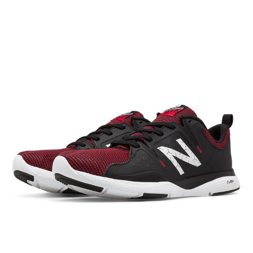 New Balance 818 Trainer Men's Cross-Training Shoes - Black / Red / White (MX818RD)