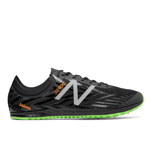 New Balance XC900v4 Spike Men's Cross Country Shoes - Black / Orange (MXCS900K)