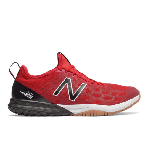 New Balance FuelCore Quick v3 Trainer Men's Cross-Training Shoes - Red / Dark Grey (MXQIKGR3)