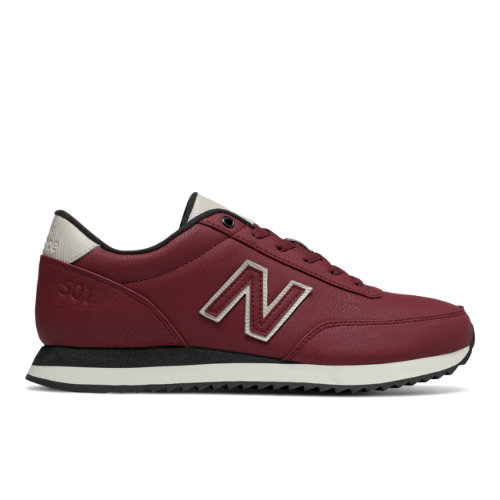 New Balance 501 Ripple Sole Men's Running Classics Shoes - Red / Off White (MZ501ASY)