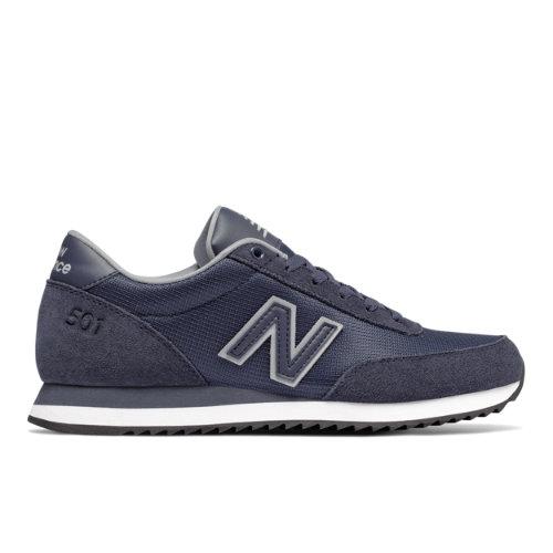 New Balance 501 Ripple Sole Men's Running Classics Sneakers Shoes - Navy (MZ501CRA)