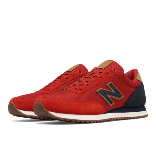 new balance 501 ripple sole red
