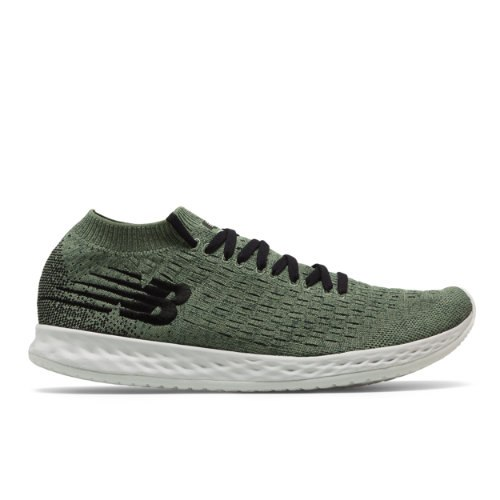 New Balance Fresh Foam Zante Solas Men's Running Shoes - Green (MZANSSG)