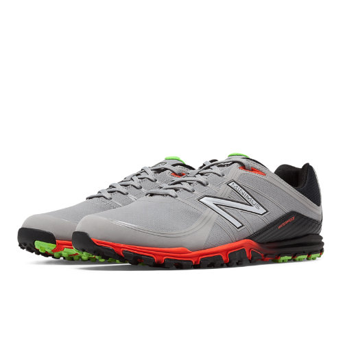 New Balance Golf 1005 Men's Shoes - Grey / Orange (NBG1005G)