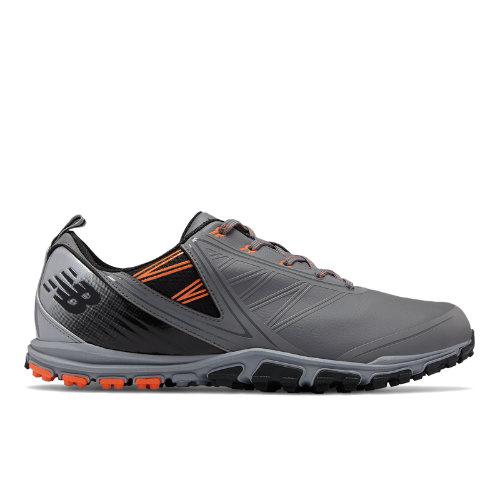 New Balance Minimus SL Men's Golf Shoes - Grey / Orange / Black (NBG1006GO)