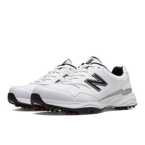 New Balance Golf 1701 Men's Golf Shoes - White, Black (NBG1701WK)