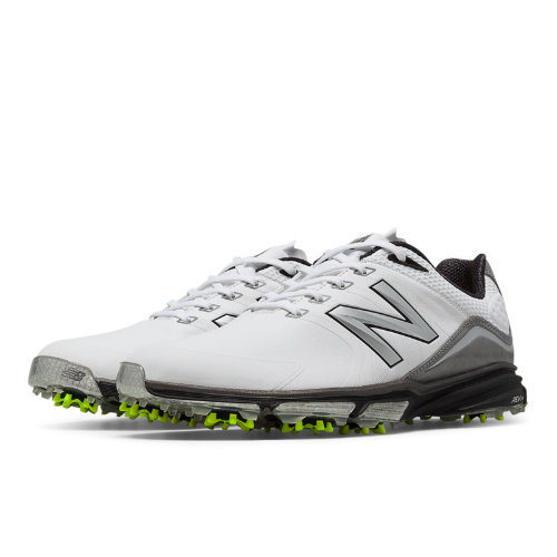 New Balance Golf 3001 Men's Golf Shoes - White, Green (NBG3001WG)