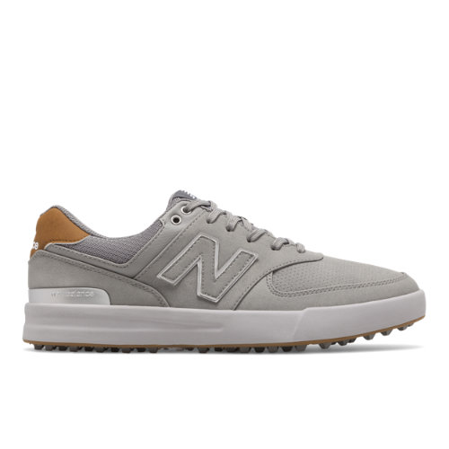 New Balance 574 Greens Men's Golf Shoes - Grey (NBG574GGR)