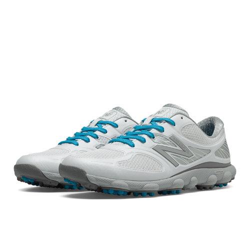 New Balance Minimus Golf 1001 Women's Golf Shoes - White / Silver (NBGW1001W)