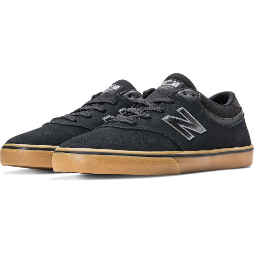 New Balance Quincy 254 Men's Numeric Shoes - Black / Tan (NM254BGM)