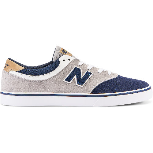 New Balance Quincy 254 Men's Numeric Shoes - Grey / Navy (NM254MO)