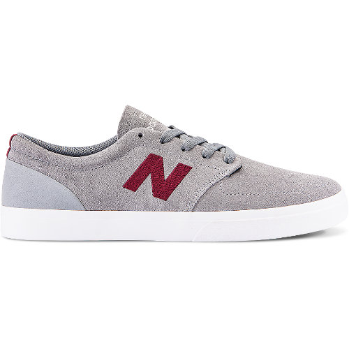 New Balance 345 Men's Numeric Shoes - Grey / Red (NM345RO)