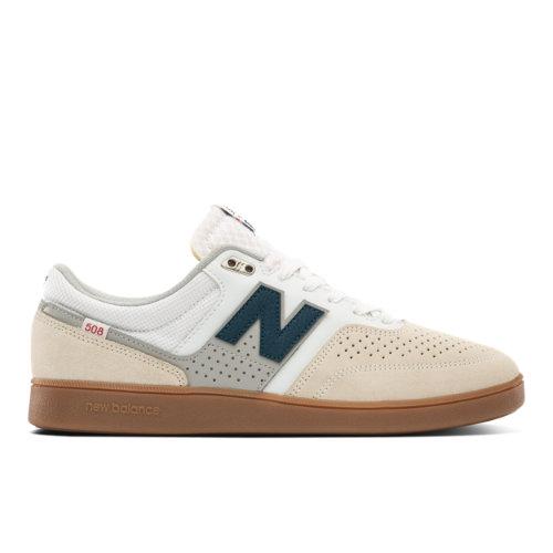 New Balance Numeric 508 Men's Skateboarding Shoes - White (NM508WHB)