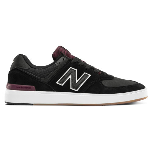 New Balance Numeric 574 Men's Court Classics Shoes - Black (NM574WST)