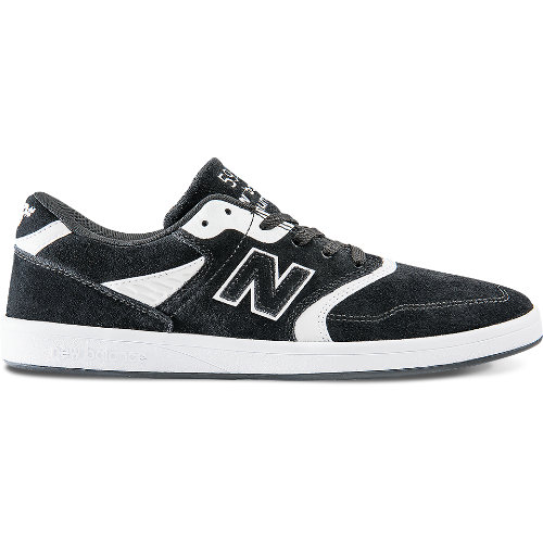 New Balance 598 Men's Numeric Shoes - Black / White (NM598BKW)