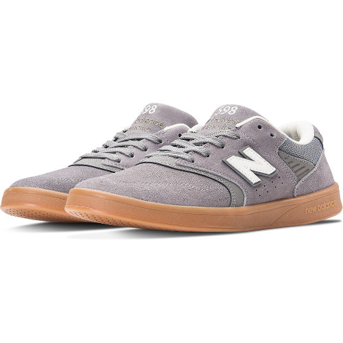New Balance 598 Men's Numeric Shoes - Grey / Tan (NM598SFC)