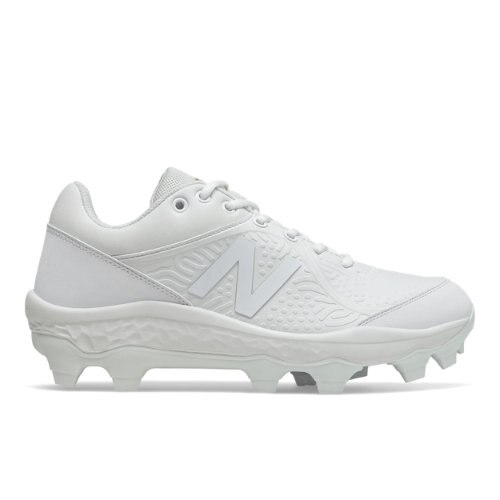 New Balance 3000v5 Fresh Foam Triple White TPU Cleats Men's Baseball Shoes (PL3000AW)