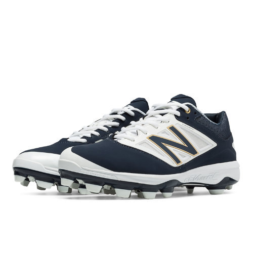 New Balance Low Cut 4040v3 TPU Molded Cleat Men's Low-Cut Cleats Shoes - Navy, White (PL4040N3)