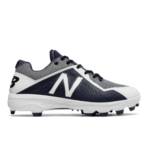 new balance 4040v4. new balance tpu 4040v4 men\u0027s low-cut cleats shoes - navy / white (pl4040n4
