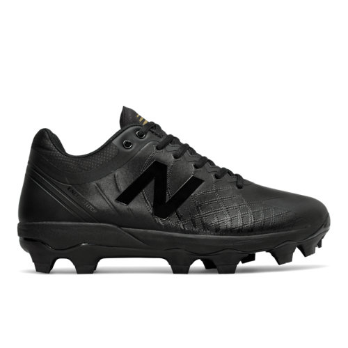 New Balance 4040v5 TPU Triple Black Men's Cleats Baseball Shoes (PL4040X5)