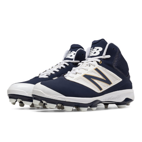 New Balance Mid-Cut 4040v3 TPU Molded Cleat Men's Mid-Cut Cleats Shoes - Navy (PM4040N3)