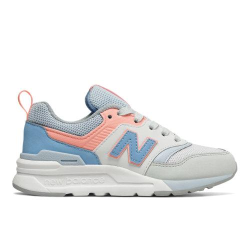 New Balance 997H Kids Lifestyle Shoes - Blue / Pink (PR997HCI)