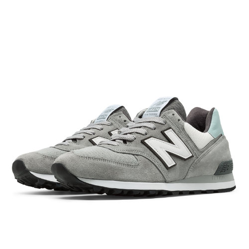 New Balance 574 Walk Off Tampa Men's 574 Shoes - Grey (QOT2US574)