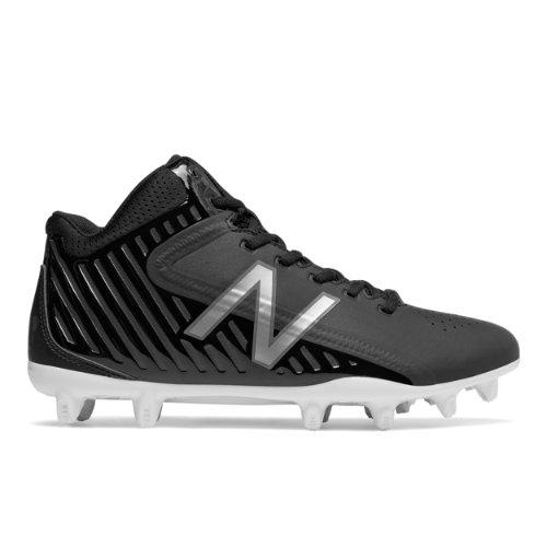 New Balance RushLX Men's Cleats Shoes - Black / Grey (RUSHBK)
